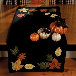 ... Harvest Table Runner Shown Below. This ...