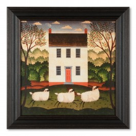 New Framed Folk Art for Spring Decorating | Shoptalk by Sturbridge