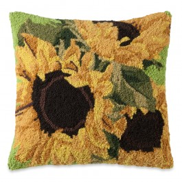 Sunflower Bloom Pillow