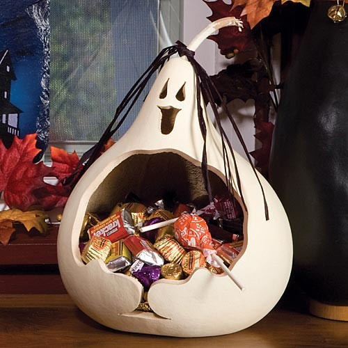 Ghost Gourd Candy Dish