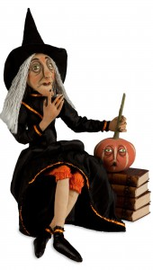 Clarice Soft Witch Sculpture