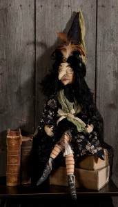 Themla Soft Witch Sculpture