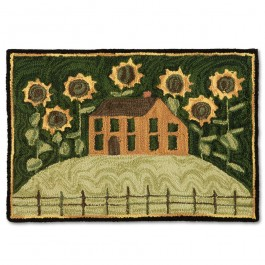 Sunflower House Rug