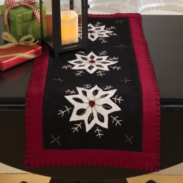 Felt Star Table Runner