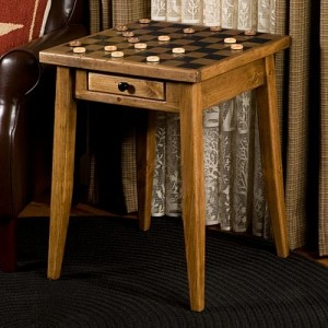 Game Top End Table