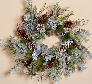 First Snow Wreath