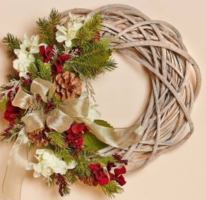 Merlot Willow Wreath