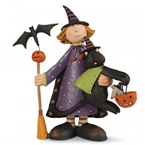 Witchy Wonderland Halloween Sculpture Collectible