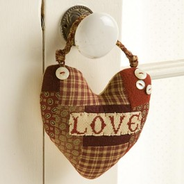 Heart Button Hangers