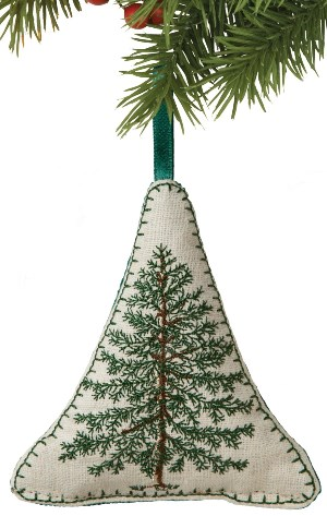 Balsam Fir Tree Ornament