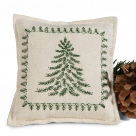 Embroidered Balsam Pillow Sachet