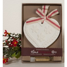 Scented Heart Ornament
