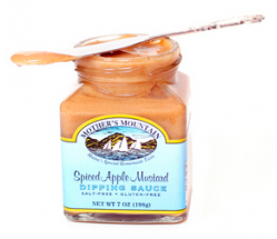 Spiced Apple Mustard