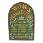 Personalized Mom's Bed and Breakfast Sign