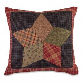 Country Star Quilted Mini Pillow