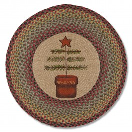 Feather Tree Jute Rug