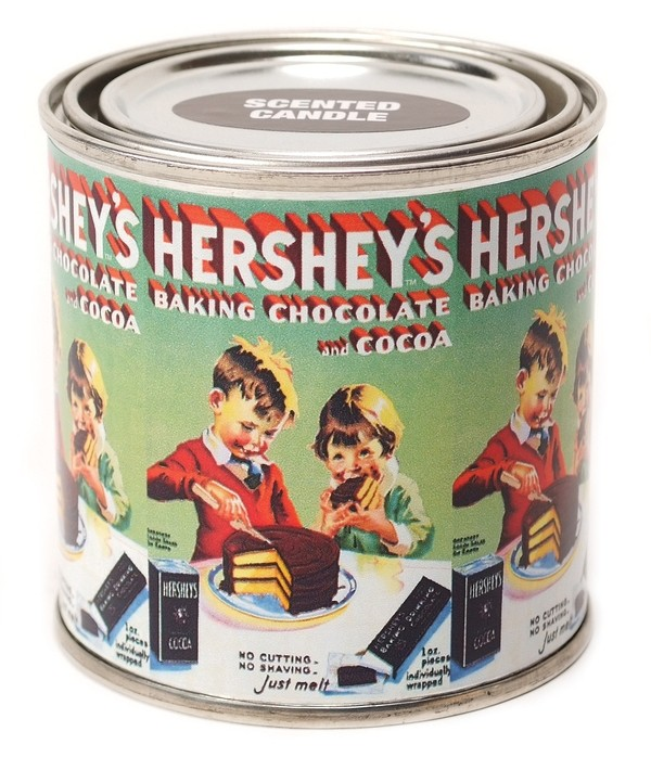 Hershey's Baking Chocolate Candle