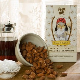 Maple Coconut Roasted Almonds