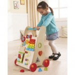 Childrens Wooden Activity Walker