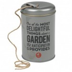 Gardening String in a Tin