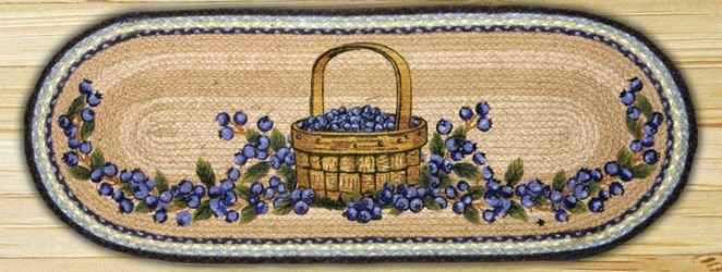 Blueberry Basket Table Runner