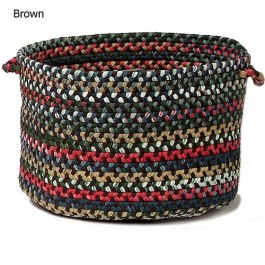 Chesnut Knoll Braided Utility Basket
