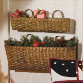 Chip Wood Baskets Set
