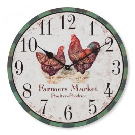 Farmers Market Clock