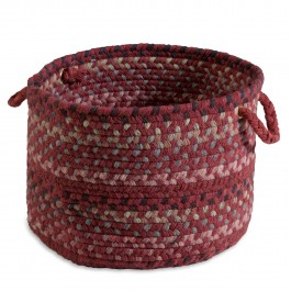 Keepsake Wool Braided Basket