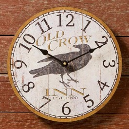 Old Crow Inn Clock