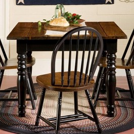 Rustic Bow Back Chair
