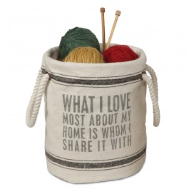 What I Love Canvas Tote