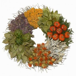 Culinary Herb Wreath