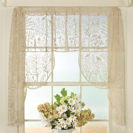 Folk Lace Curtains