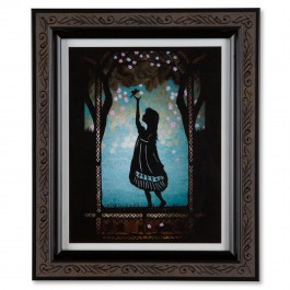 Hope Papercut Framed Print