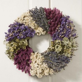 Lavender Country Wreath
