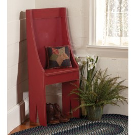 Primitive Chair Red