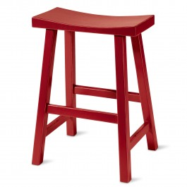 Saddle Stool Red