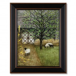 Grazing Sheep Print