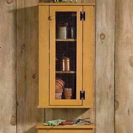Jelly Hutch Cabinet Set Mustard