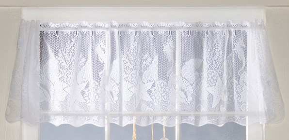 Seashell Lace Valance