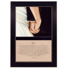 I Do Wedding Keepsake Print