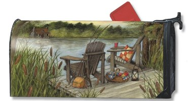 Lakeside Mailbox Cover