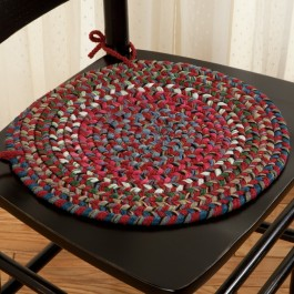 Old Orchard Braided Chair Pad