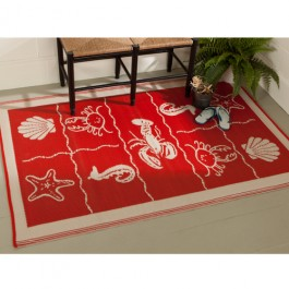 Indoor & Outdoor Seashore Rug