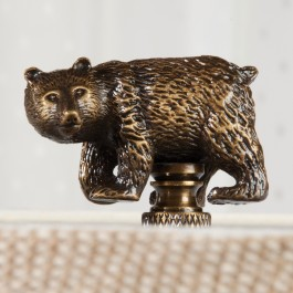 Bear Lamp Finial