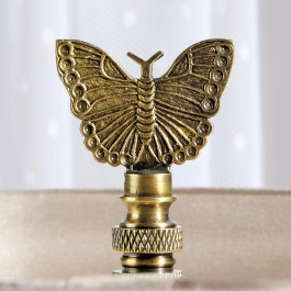 Brass Butterfly Finial