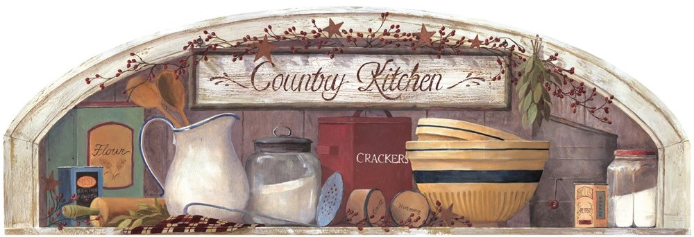 Country Kitchen Door Arch
