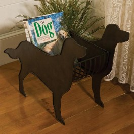Dog Magazine Holder
