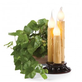 Electric Colonial Candlestick Trio Display